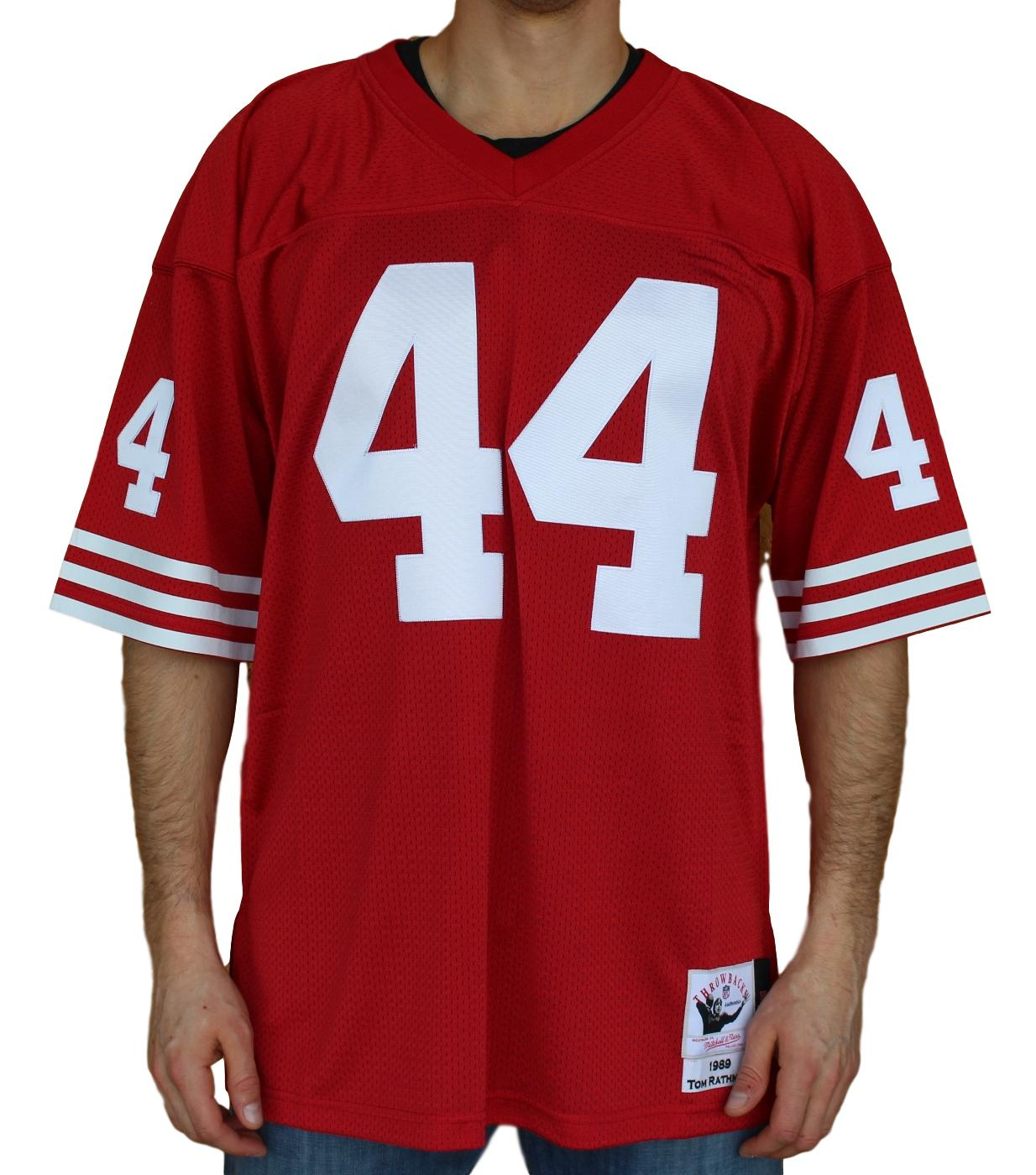 Details about Tom Rathman San Francisco 49ers Mitchell   Ness Authentic  1989 NFL Jersey 27b4198b8