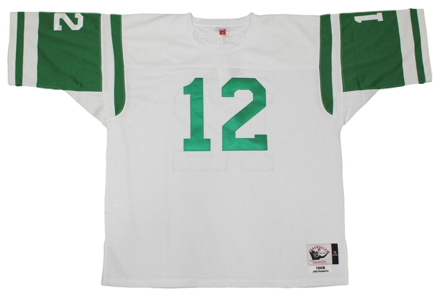 79ad9486 Details about Joe Namath New York Jets Mitchell & Ness Authentic 1968 NFL  Jersey - White