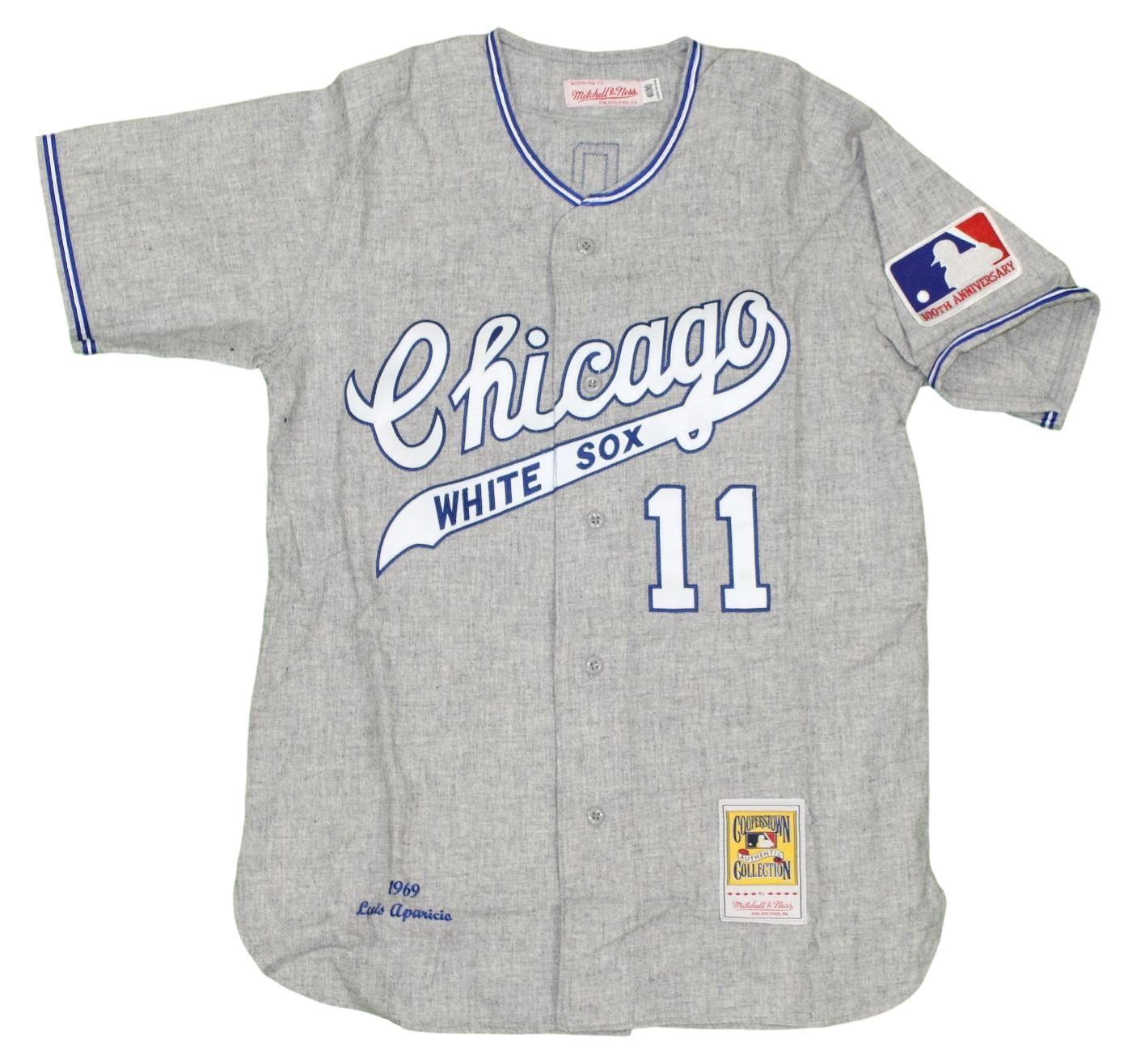 Details about Luis Aparicio Chicago White Sox Mitchell   Ness MLB Authentic  1969 Jersey 3ea1649e4