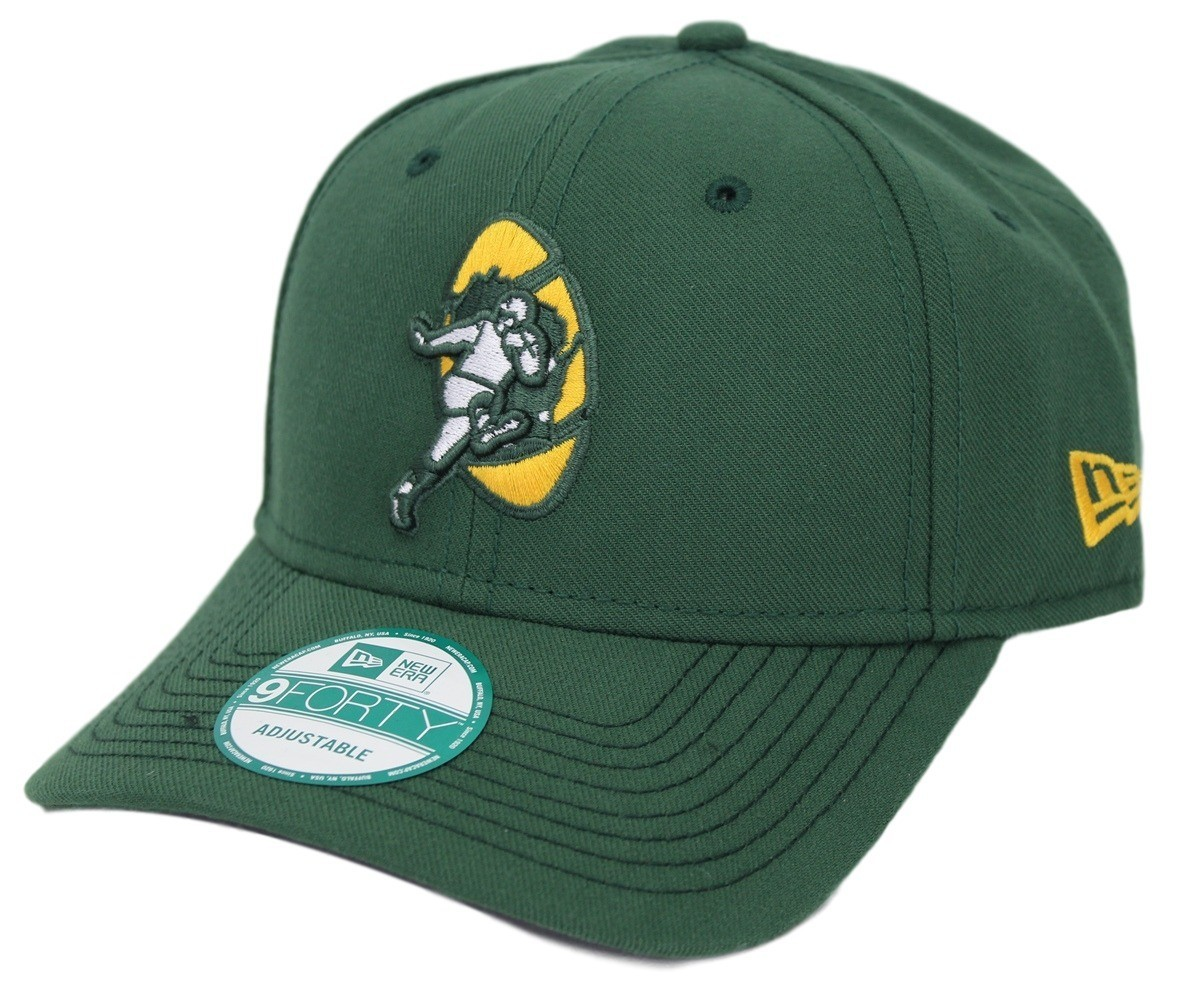 buy online 6add3 5f815 Green Bay Packers New Era 9Forty NFL