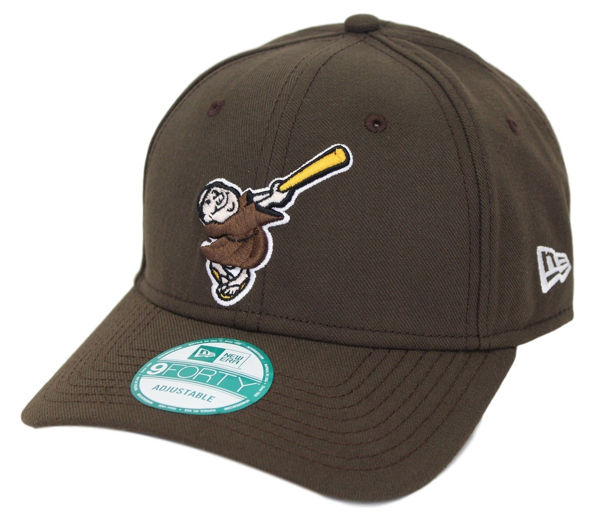 8ce0f49ee60a3 ... switzerland san diego padres new era mlb 9forty cooperstown classic  custom adjustable hat f30cf e31fa