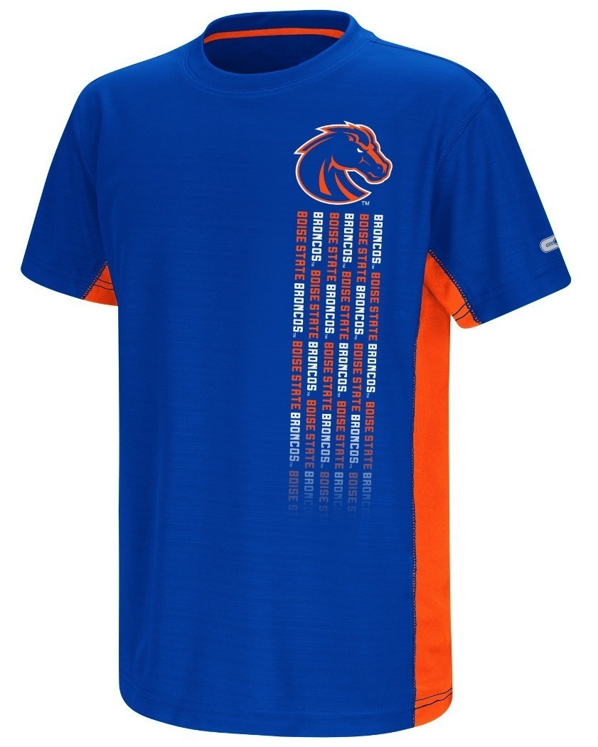 Buy boise state broncos ncaa power set youth short for Boise t shirt printing