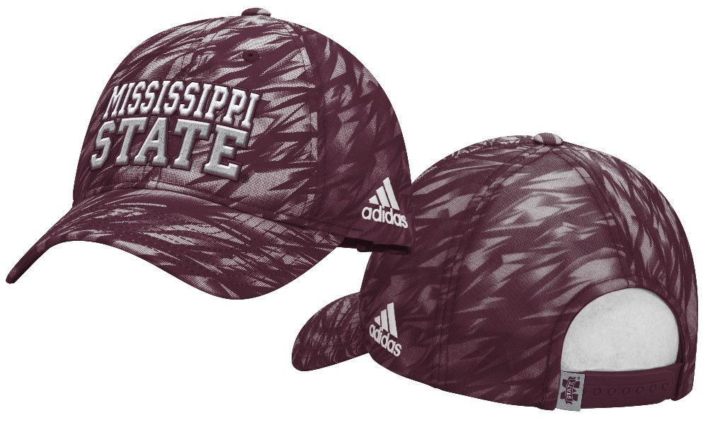 4de264741939d Mississippi State Bulldogs Adidas NCAA Sideline Climalite Adjustable ...