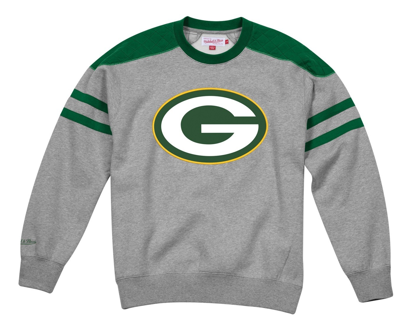 98b978bf0f9 Details about Green Bay Packers Mitchell   Ness NFL