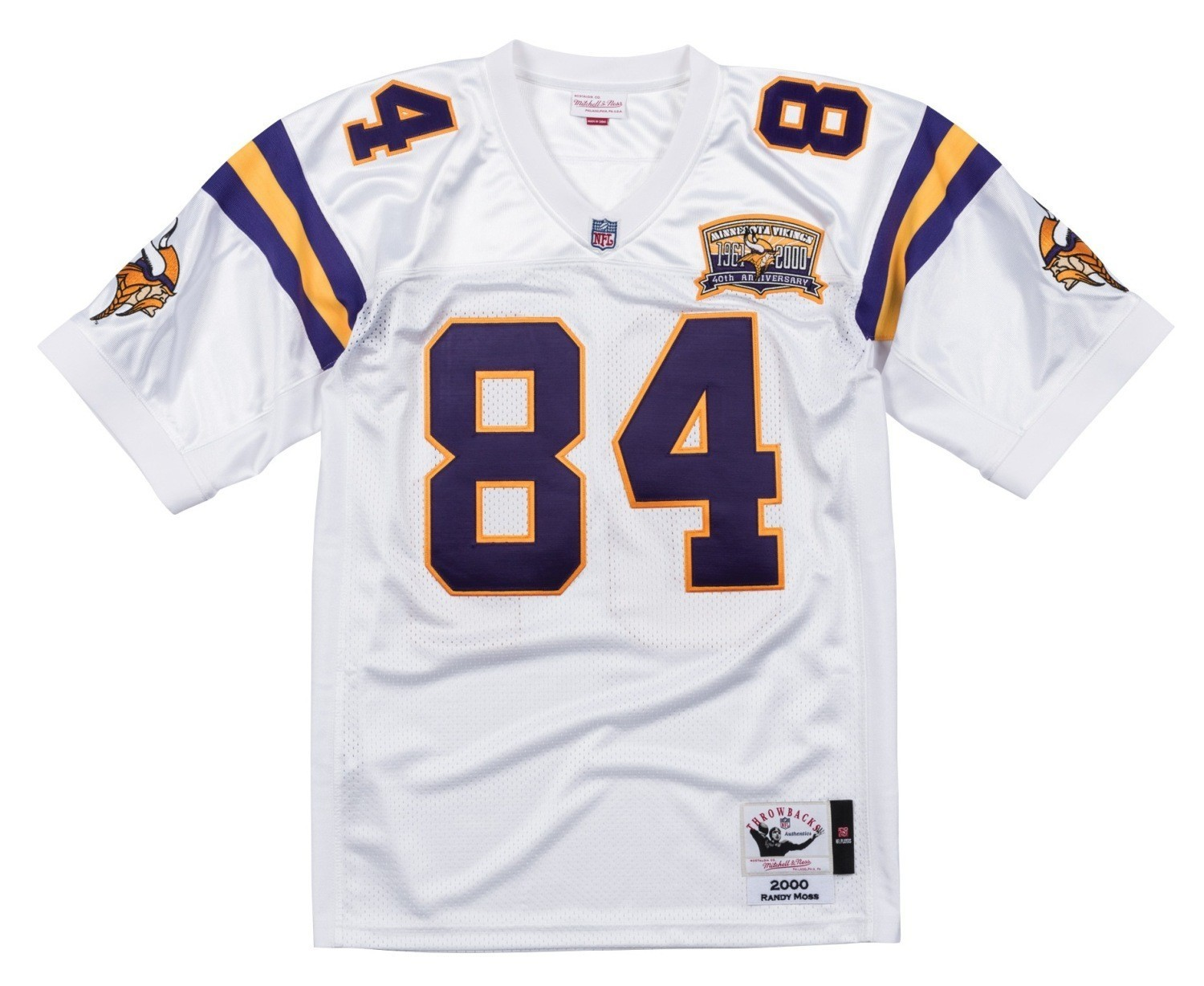 a982c4f77 Details about Randy Moss Minnesota Vikings NFL Mitchell   Ness Authentic  2000 Jersey