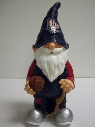 New Jersey Nets NBA Garden Gnome