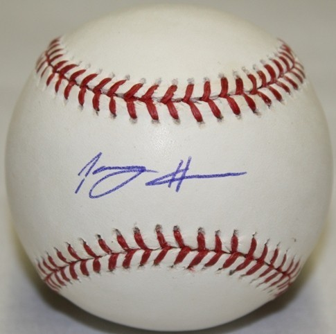 Tommy Hanson Signed Official Baseball