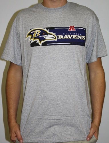 Baltimore Ravens Majestic Critical Victory VII T-Shirt - Gray