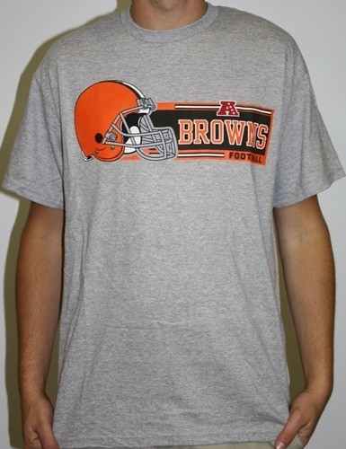 Cleveland Browns Majestic Critical Victory VII T-Shirt - Gray