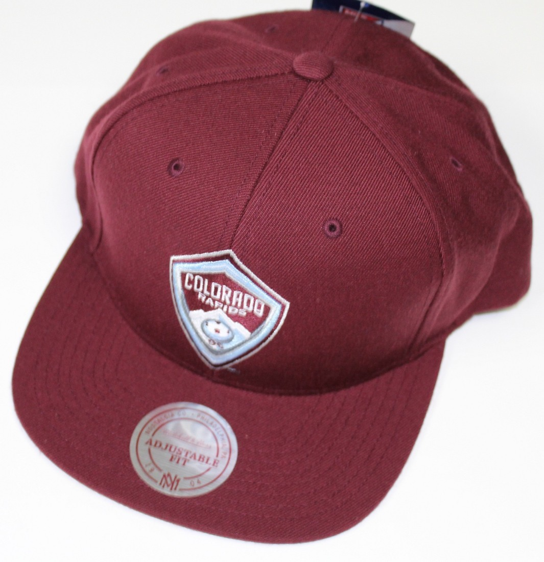 the latest b5161 a969f usa colorado rapids adidas mls authentic mesh adjustable cap e1b5f e42ac   coupon for colorado rapids mls mitchell ness team solid snap back hat 0b542  e5012