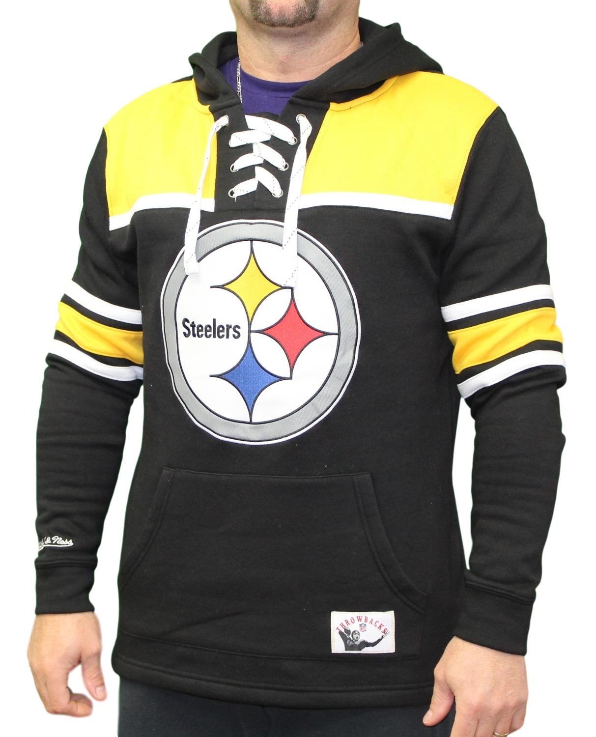 size 40 6489f d2782 Details about Pittsburgh Steelers Mitchell & Ness NFL