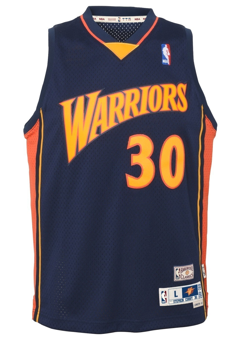 Stephen Curry Golden State Warriors NBA Youth Throwback 2009-10 Swingman  Jersey 38ab86529