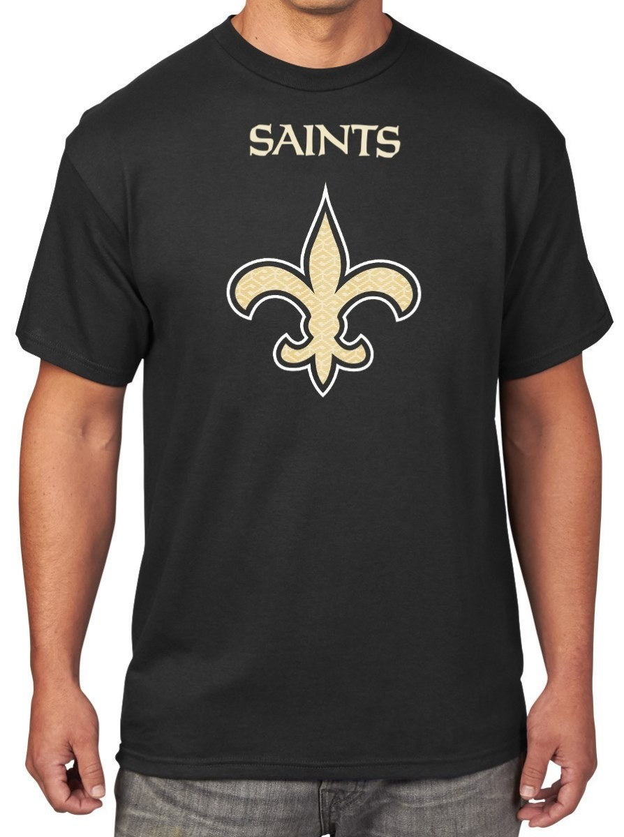New Orleans Saints Majestic NFL Critical Victory Men's T-Shirt - Black