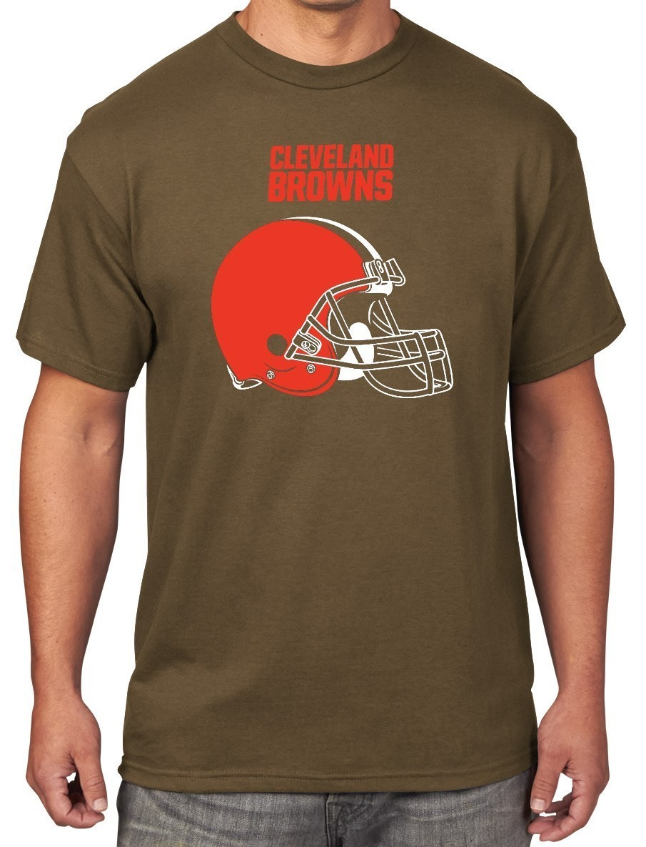 Cleveland Browns Majestic NFL Critical Victory Men's T-Shirt - Brown