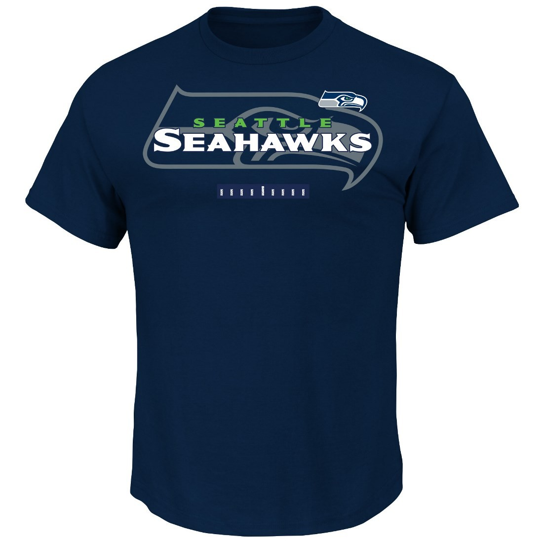 "Seattle Seahawks Majestic NFL ""Of Great Value"" Men's Short Sleeve T-Shirt"