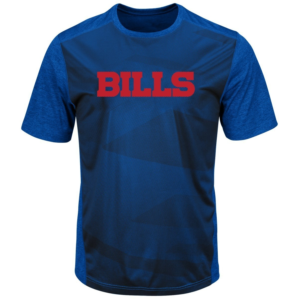 "Buffalo Bills Majestic NFL ""Gridiron"" Men's Premium Reflective T-Shirt"