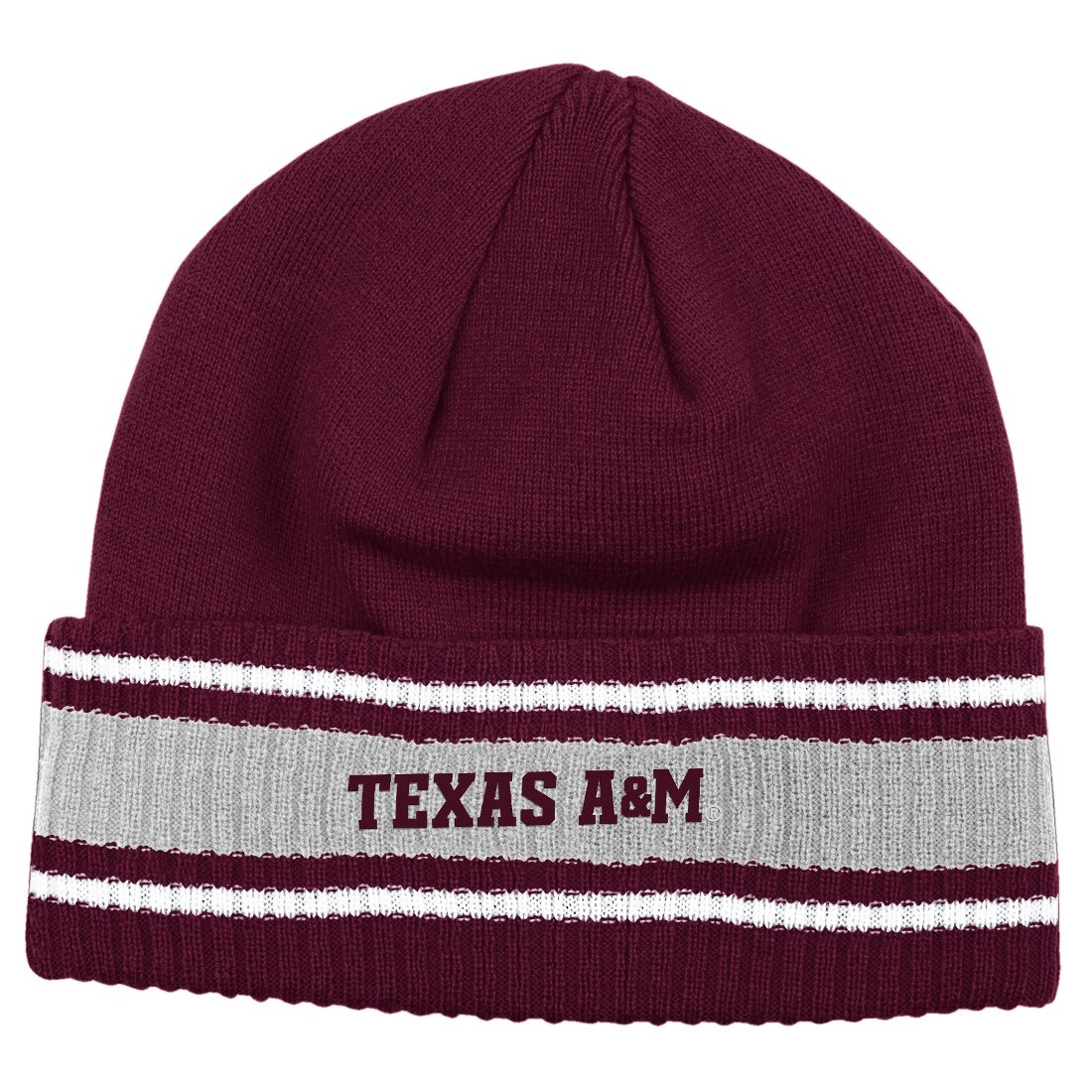 huge discount 810be 54a96 Details about Texas A M Aggies Adidas 2014 NCAA Coach s Sideline Cuffed  Knit Hat