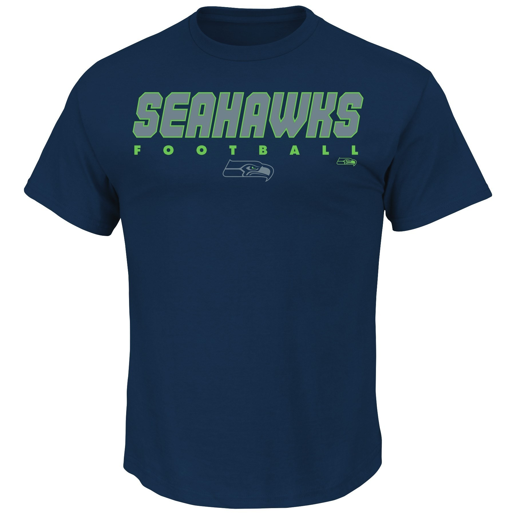 "Seattle Seahawks Majestic NFL ""Reflective"" Short Sleeve Men's T-Shirt"