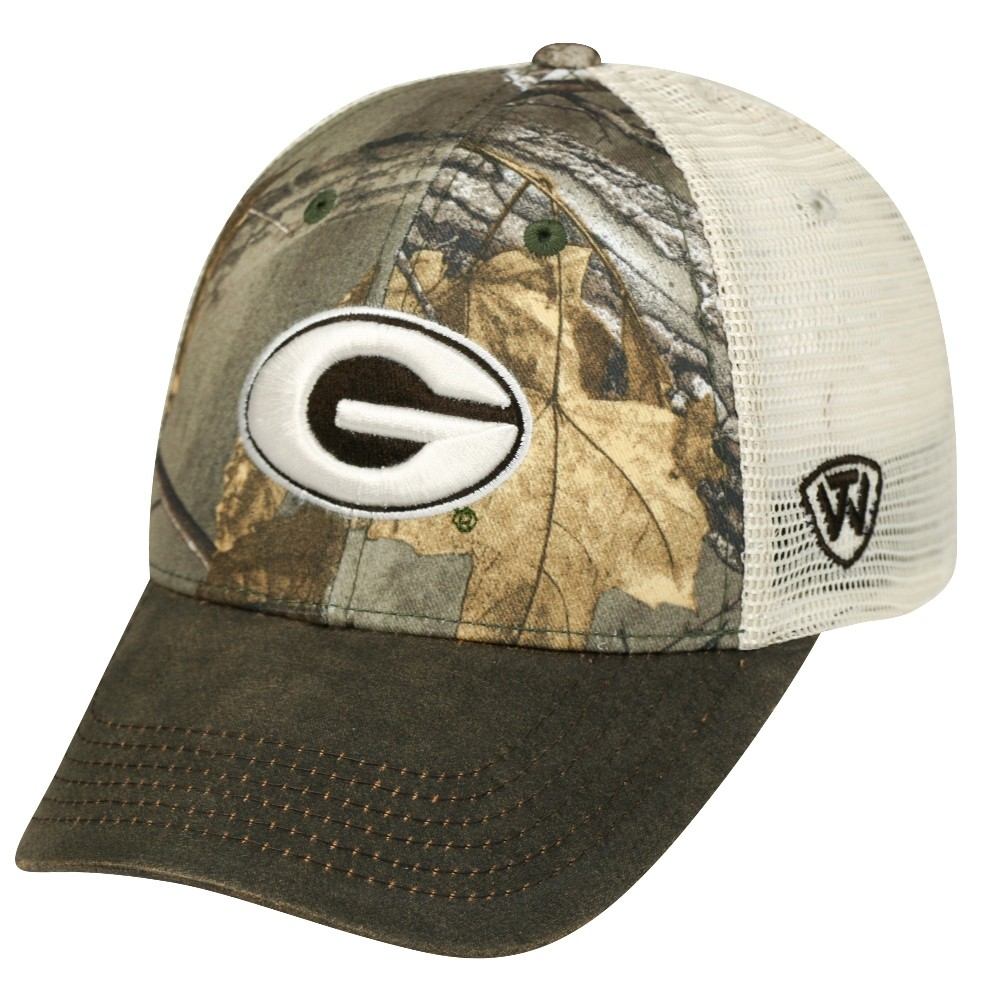 discount 02dbe a87c1 Details about Georgia Bulldogs NCAA Top of the World RealTree