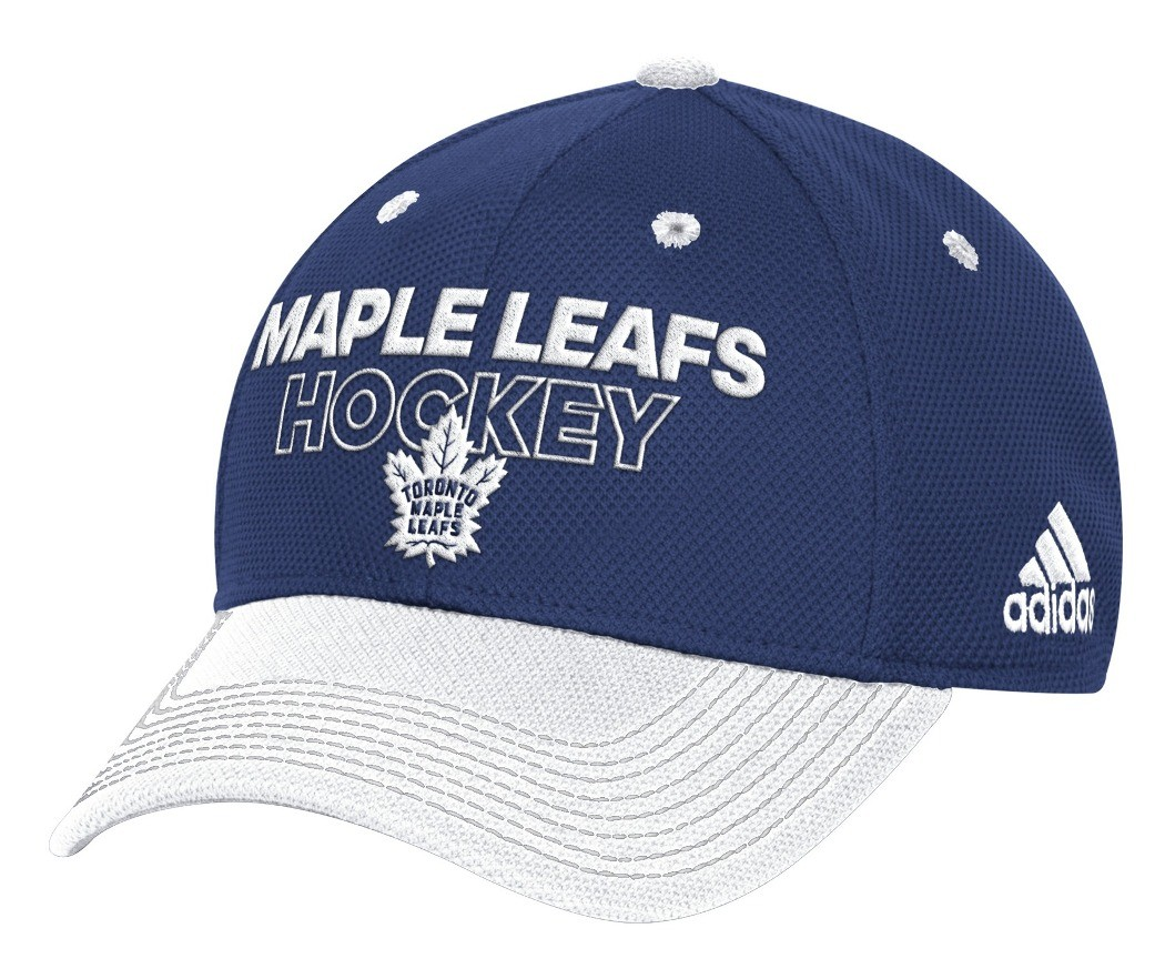 04be82dfb4c317 Toronto Maple Leafs Adidas NHL Authentic Locker Room Structured Flex Hat