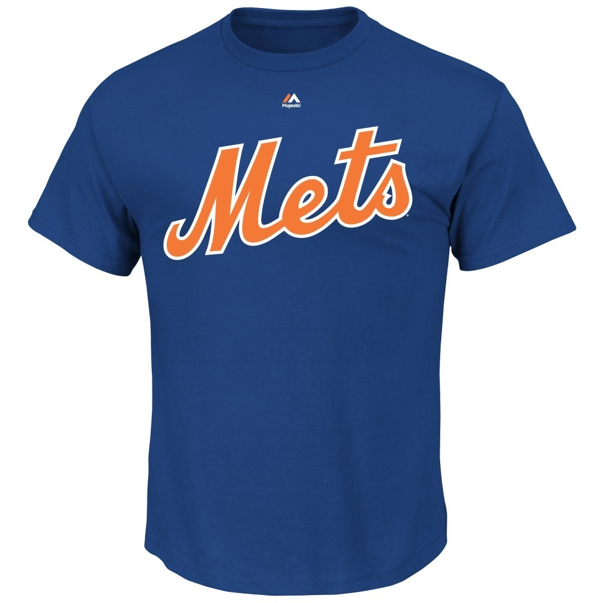 New York Mets Majestic MLB #1 Dad Name and Number Men's T-Shirt