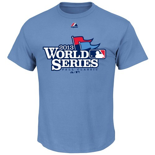 2013 World Series Official Majestic MLB W.S. Logo T-Shirt