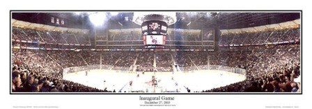 Inaugural Game Glendale Arena Coyotes Panoramic Photo