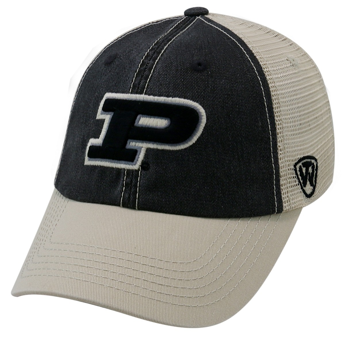 free shipping abc44 5b122 ... cheapest details about purdue boilermakers ncaa top of the world off  road adjustable mesh back hat