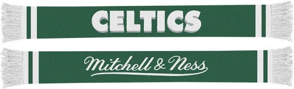 Boston Celtics Mitchell & Ness NBA Vintage Team Premium Scarf