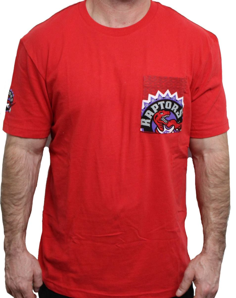 "Toronto Raptors Majestic NBA ""Strong Drive"" Men's Pocket T-Shirt"