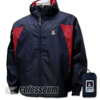 Arizona Officially Licensed NCAA Wind Jacket