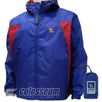 Kansas Officially Licensed NCAA Wind Jacket