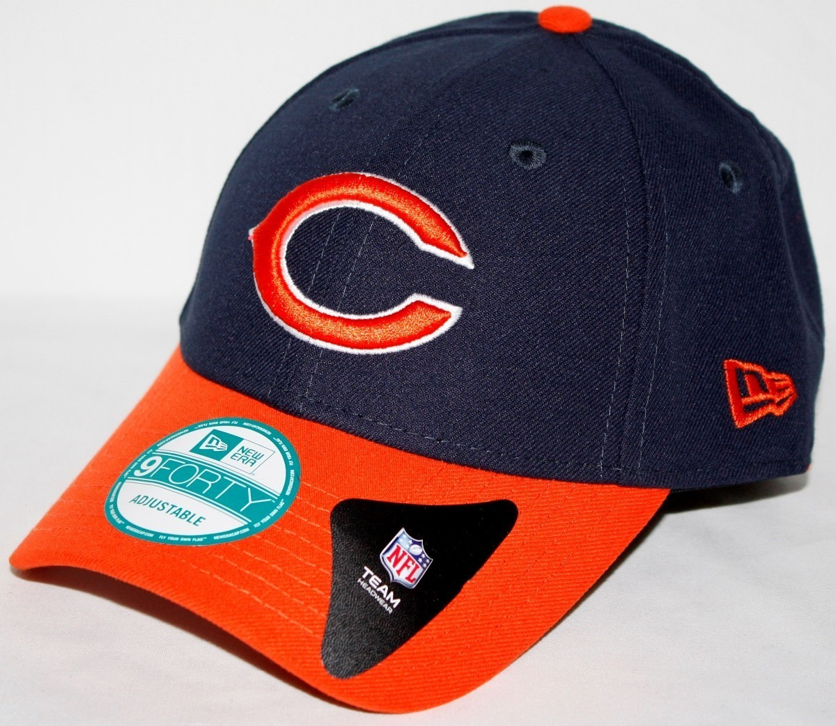 Chicago Bears New Era 9Forty NFL The League Adjustable Hat - 2 Tone ... bab5c506e