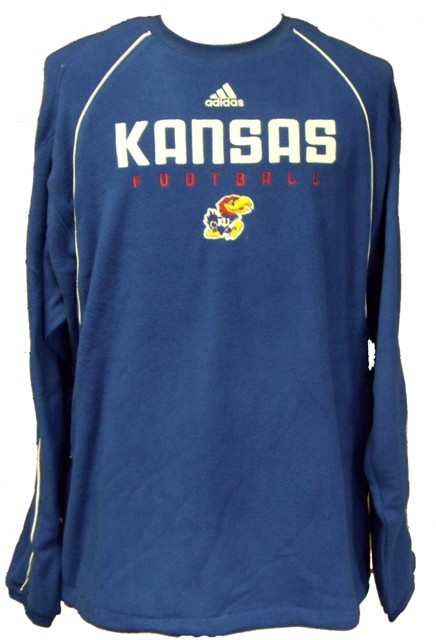 Kansas Jayhawks NCAA Fleece Crew Pullover