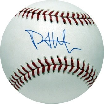 Phillip Hughes Signed Major League Baseball