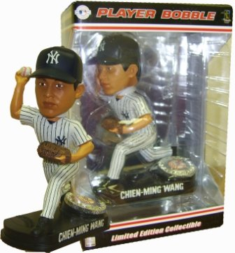 Chien-Meng Wang LE Yankees Home Bobblehead