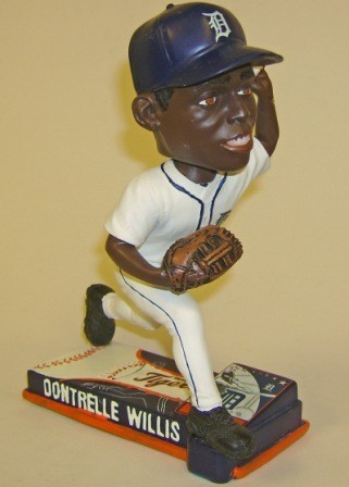 Dontrelle Willis Tigers 2008 MLB On Field Bobblehead