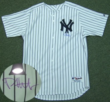 Philip Hughes Signed Majestic Yankees Authentic Jersey