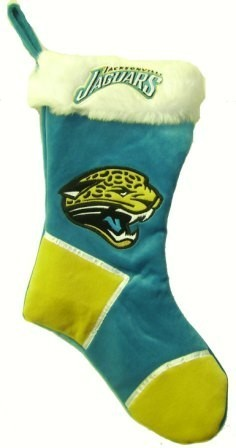 Jacksonville Jaguars Plush 2-Tone Christmas Stocking