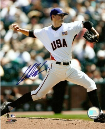 Luke Hochevar Signed Royals USA Futures Game 8x10