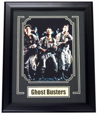Ghostbusters 8x10 Framed w/Plate