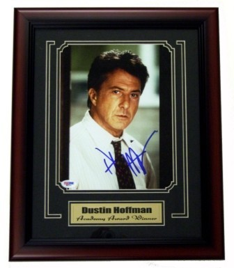 Dustin Hoffman Signed Framed 8x10 Photo
