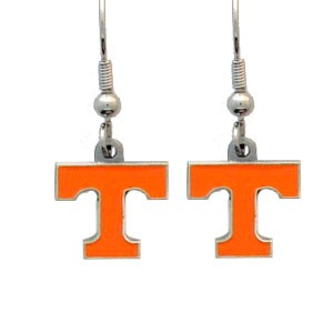 NCAA Dangling Earrings - Tennessee Vols Logo
