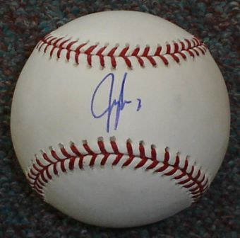 Jeff Francoeur Signed Official MLB