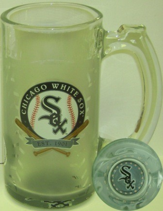 Chicago White Sox 13 Oz. Glass Sports Mug