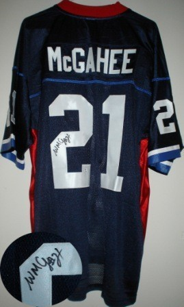 Willis McGahee Signed Auth. Buffalo Bills Jersey