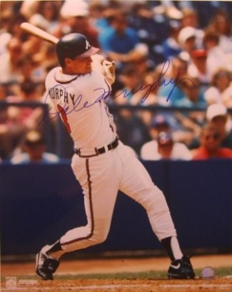 Dale Murphy Signed Atlanta Braves 16x20