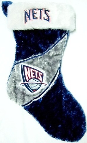 New Jersey Nets NBA Colorblock Himo Plush Stocking
