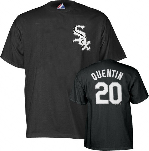 Carlos Quentin Chicago White Sox MLB Player T-Shirt