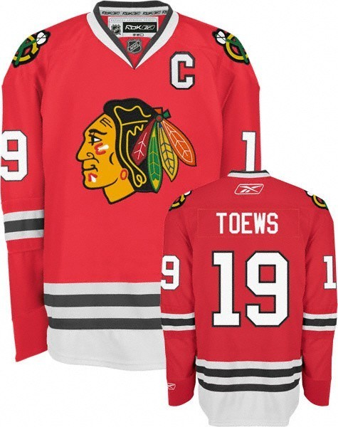 Buy Jonathan Toews Chicago Blackhawks Red Reebok Premier Jersey in ... d94940d88